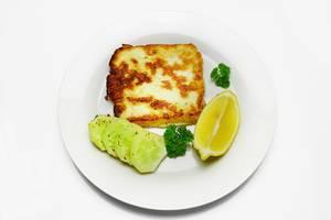 Baked halloumi cheese  Flip 2019