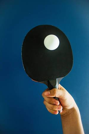 Balancing a Ping Pong Ball with a Paddle