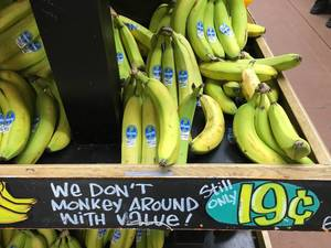 Bananas @ Traders Joe