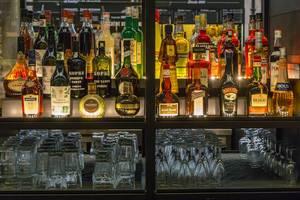 Bar mit Drinks