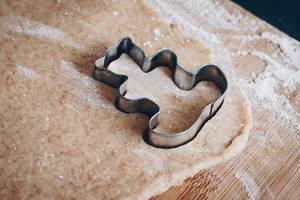 Bärförmiger Keksausstecher für Lebkuchen und Teig