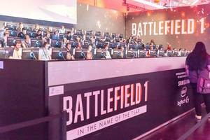 Battlefield 1 In the Name of the Tsar Gaming-Bühne - Gamescom 2017, Köln