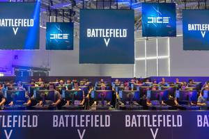 Battlefield V ist sehr beliebt unter den Besuchern der Gamescom