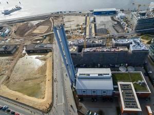 Baustelle Hamburg-Überseequartier / Hafencity
