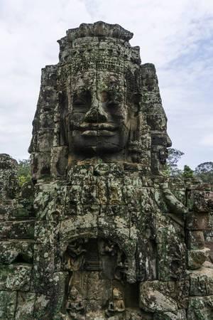 Bayon Tempel in Siem Reap - Gesichter aus Stein