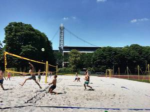 Beachvolleyball in Köln
