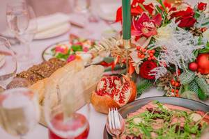 Beauitful Table Set With decors  Flip 2019