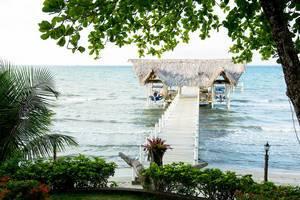 Beautiful dock in Puerto Barrios