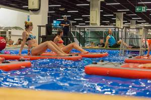 BEboard for Pilates and Yoga - FIBO Cologne 2018