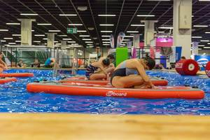 BEboard für Pilates und Yoga - FIBO Köln 2018