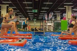 BEboard. Training im Wasser