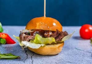 Beef Burger close Up (Flip 2019)