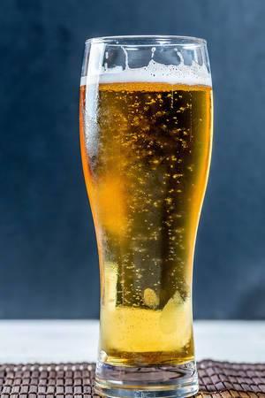 Beer in beer glass