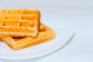 belgian waffles isolated  Flip 2019