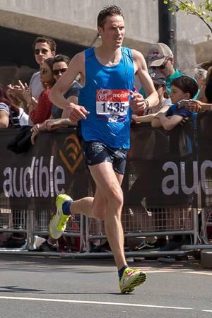 Ben Fish - London Marathon 2018