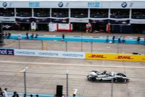 Berlin 2019 E-Prix: Sébastien Buemi passing pit-lane
