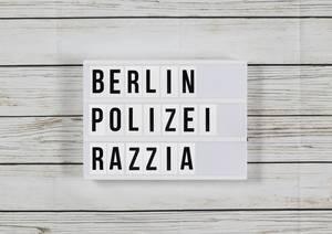 Berlin: Hunderte Polizisten zu Razzien unter anderem in Rigaer Straße