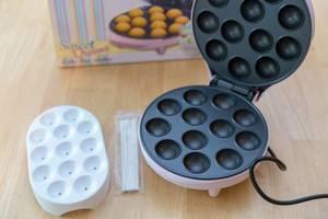 Bestron Sweet Dreams Cake-Pop Eisen mit Kartonschachtel und Zubehör