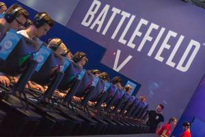 Besucher zocken Battlefield V