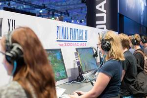 Besucher zocken Final Fantasy XII - The Zodiac Age