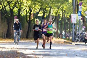 Bienenfeld Aaron, Schreiner Christian, Drescher Michael - Köln Marathon 2017