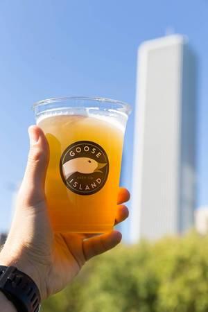 Bier gebraut von der Goose Island Beer Company