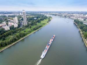 Binnenschiffahrt auf dem Rhein