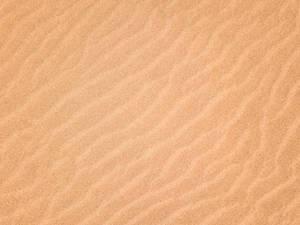 Bird eye view of sand waves