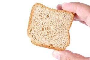 Biscuit Toast Bread in the hand (Flip 2019)