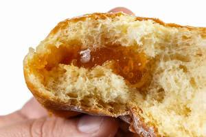 Biteed Donut with Fruit Jam topping