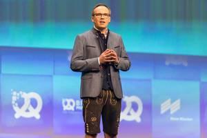 Bits & Pretzels founder Bernd Storm van