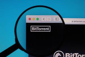 BitTorrent website under magnifying glass