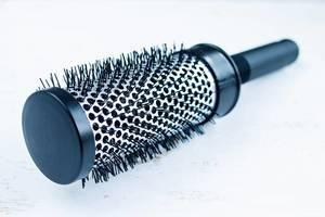 Black Hair Brush / Haarbürste