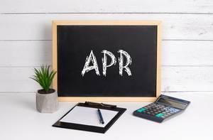 Blackboard with APR text