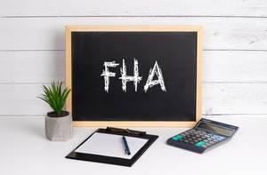 Blackboard with FHA text