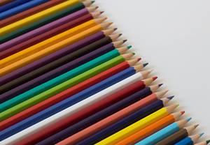 Bleistifte verschiedener Farben