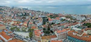 Blick aufs Pantheon Lissabon