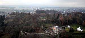 Blick von Festung Hohensalzburg