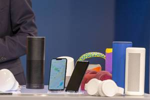 Bluetooth Lautsprecher und Kopfhörer