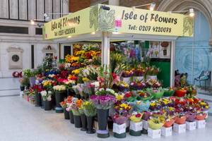 Blumengeschäft Isle of flowers in London