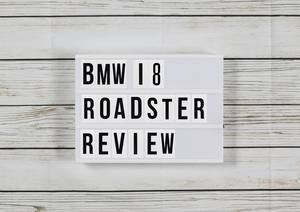 BMW i8 Roadster 2018 UK review