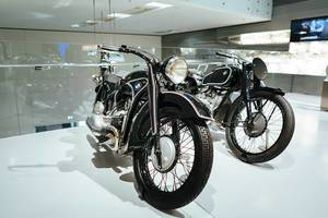 BMW motorcycles of 1940's