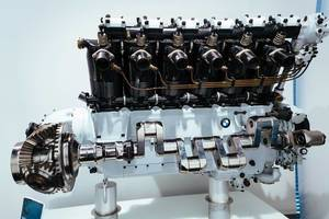 BMW VI water-cooled  V12 aircraft engine