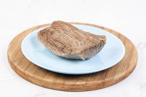 Boiled Beef served on the plate