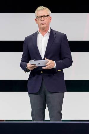 Börje Ekholm CEO von Ericsson auf der DigitalX in Köln