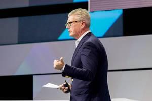 Börje Ekholm über die unternehmerischen Perspektiven und Möglichkeiten von 5G bei der Digital X in Köln