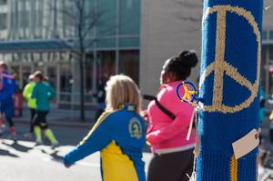 Boston Marathon: No More Hurting People Decoration