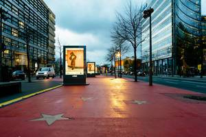 Boulevard der Stars in Berlin, Germany