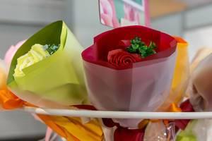 Bouquets mit künstlichen Rosen - IAW Köln 2018