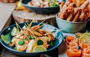Bowl of Shrimps Salad